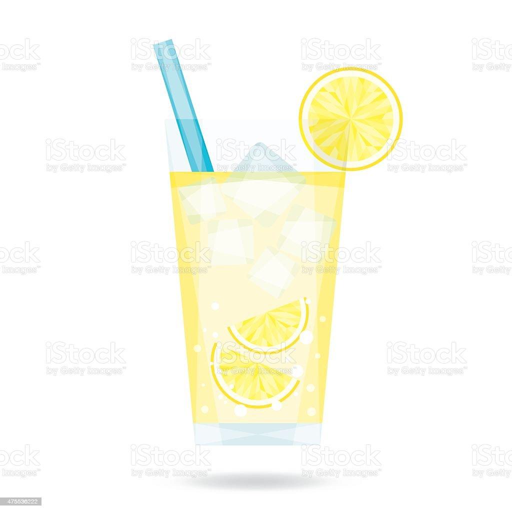 Lemonade vector art illustration