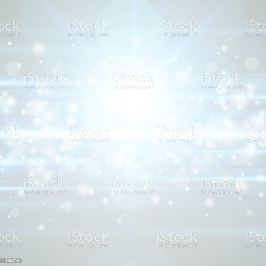 Lens flare light background vector art illustration