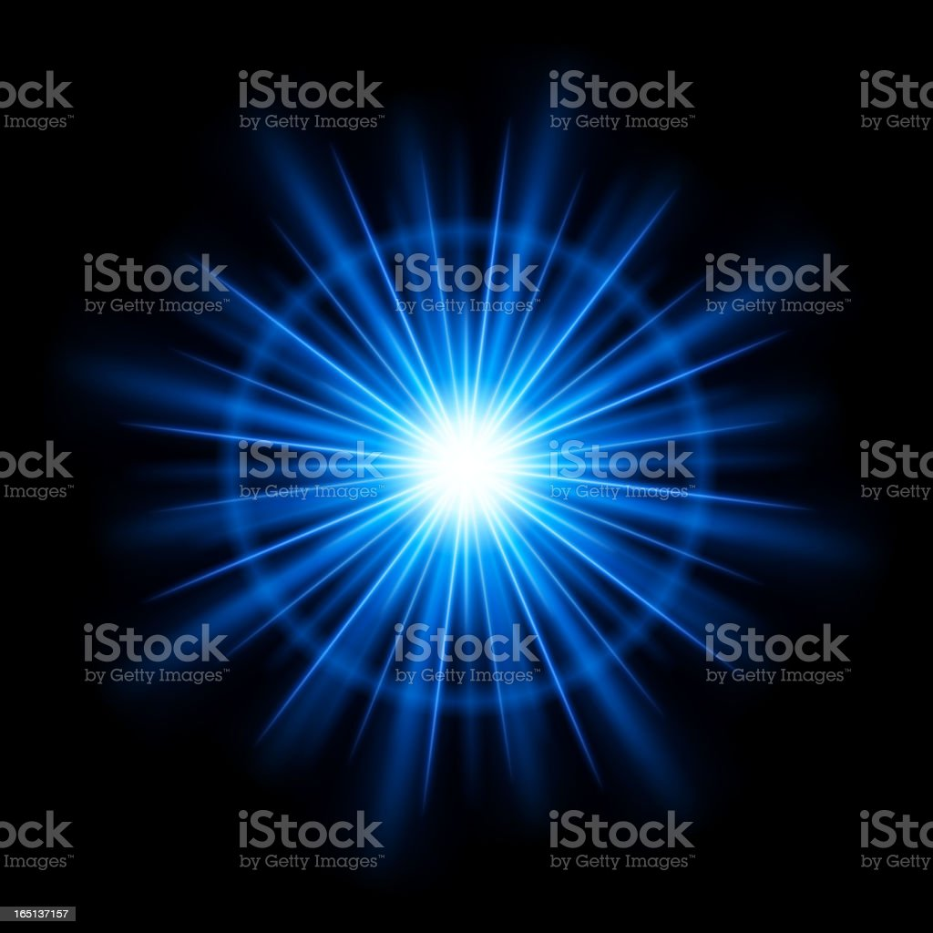Lens flare vector background royalty-free stock vector art
