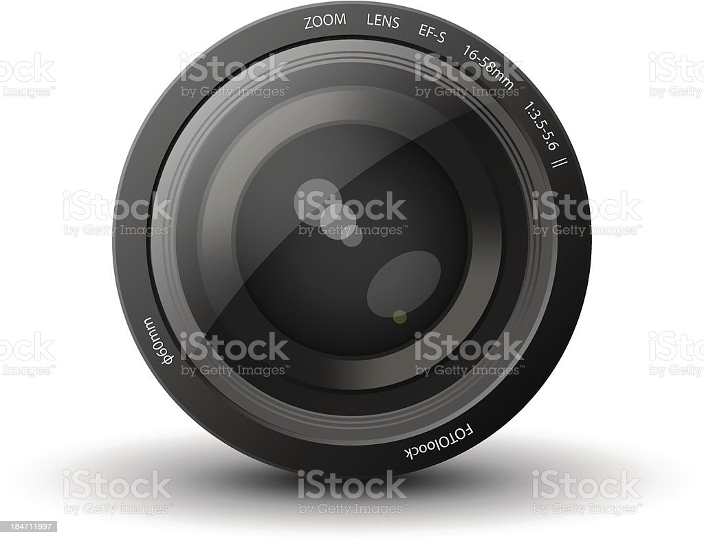 lens royalty-free stock vector art
