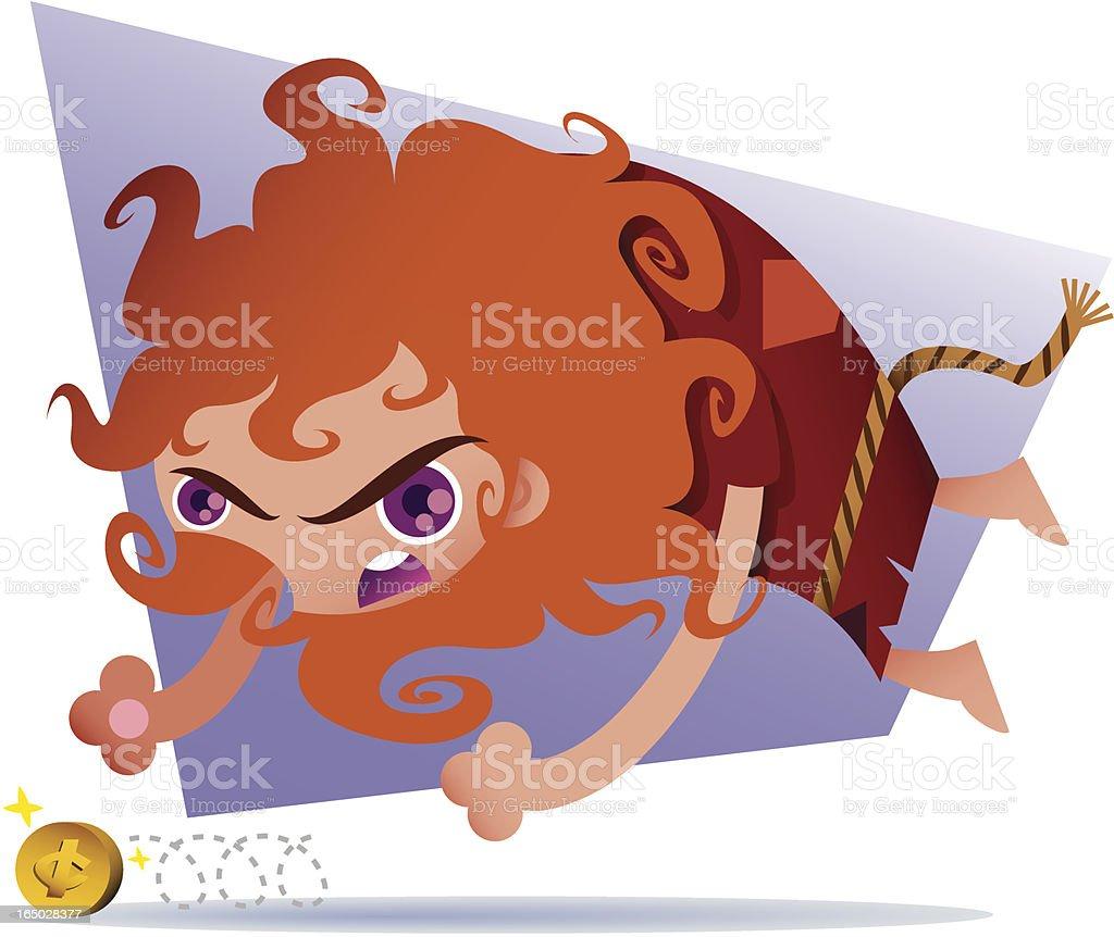 Leo vector art illustration