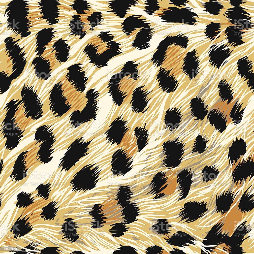 Leopard Fur (seamless tile) vector art illustration