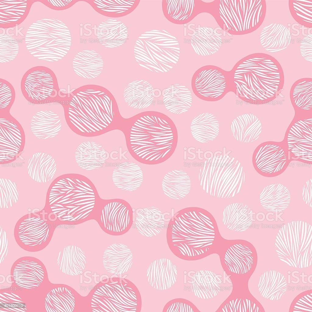 Leopard stylized seamless pattern vector art illustration
