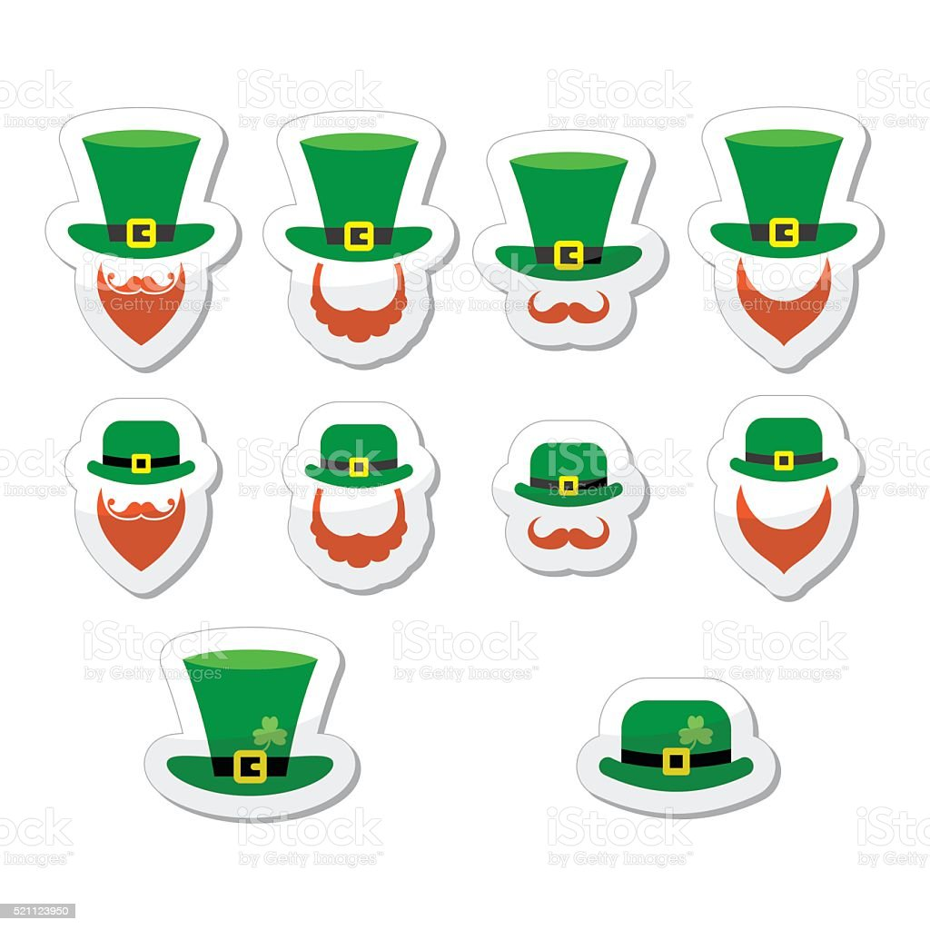 Leprechaun character for St Patrick's Day in Ireland vector art illustration