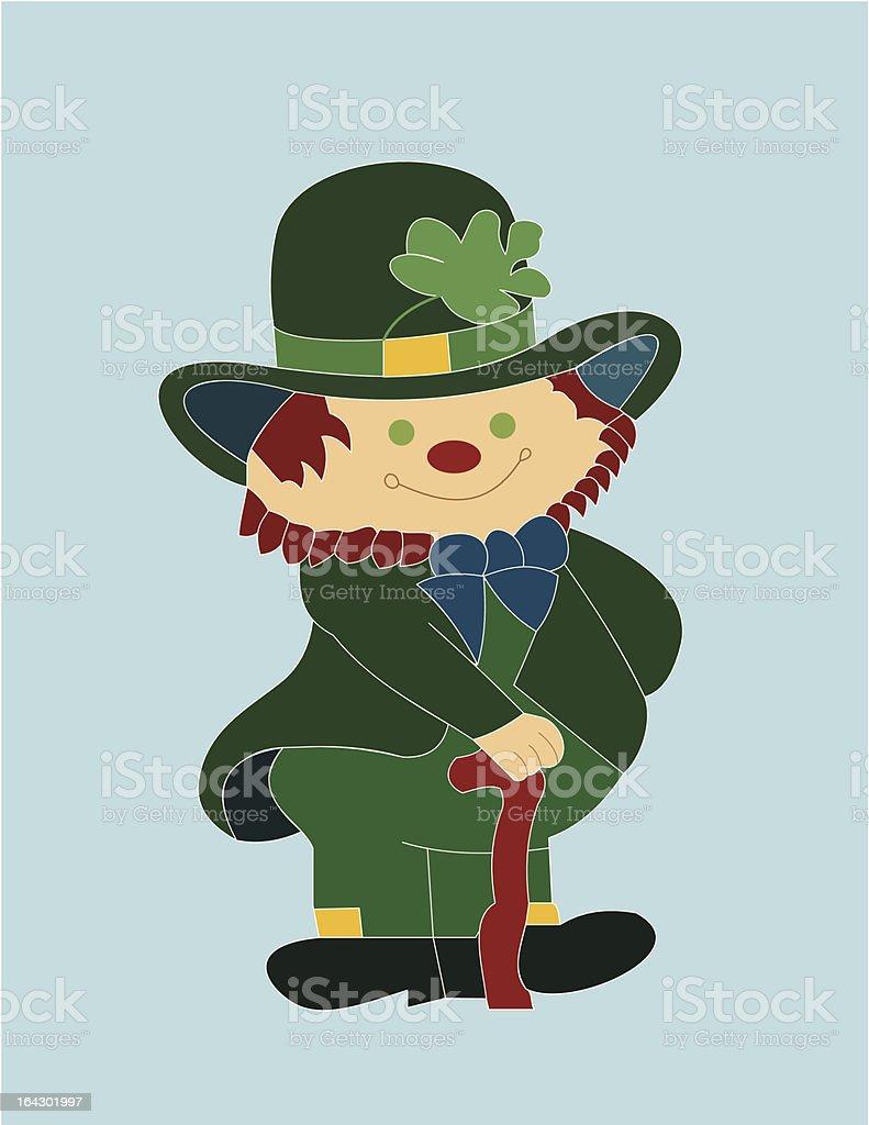 Leprechaun royalty-free stock vector art