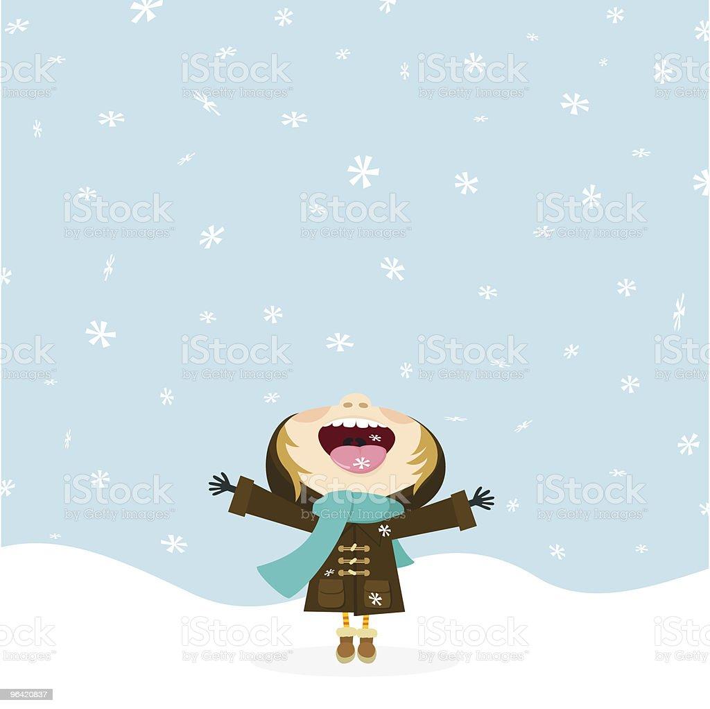 Картинки времена года зима снежинки