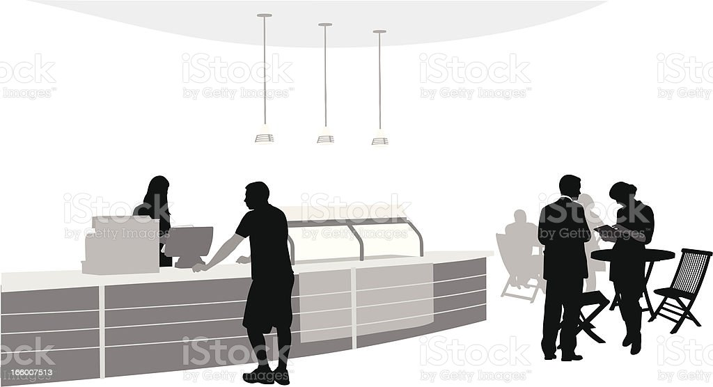 Let Me Check royalty-free stock vector art