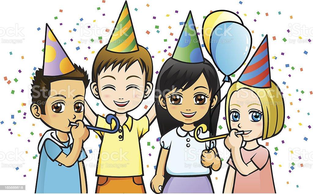 Let's Celebrate! royalty-free stock vector art
