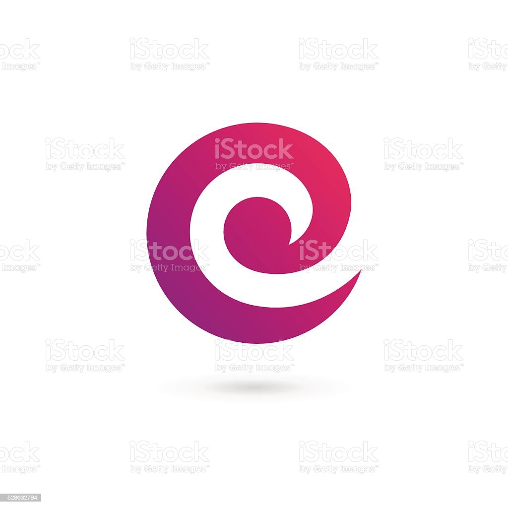 Letter C E icon design template elements vector art illustration