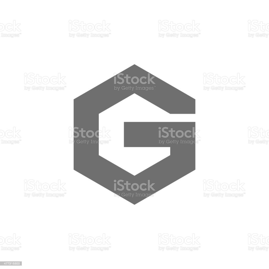 Letter G Logo Concept Icon. Vector vector art illustration