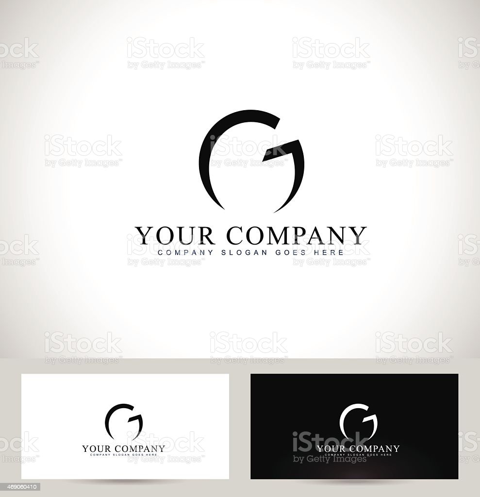 Letter G Logo Design vector art illustration