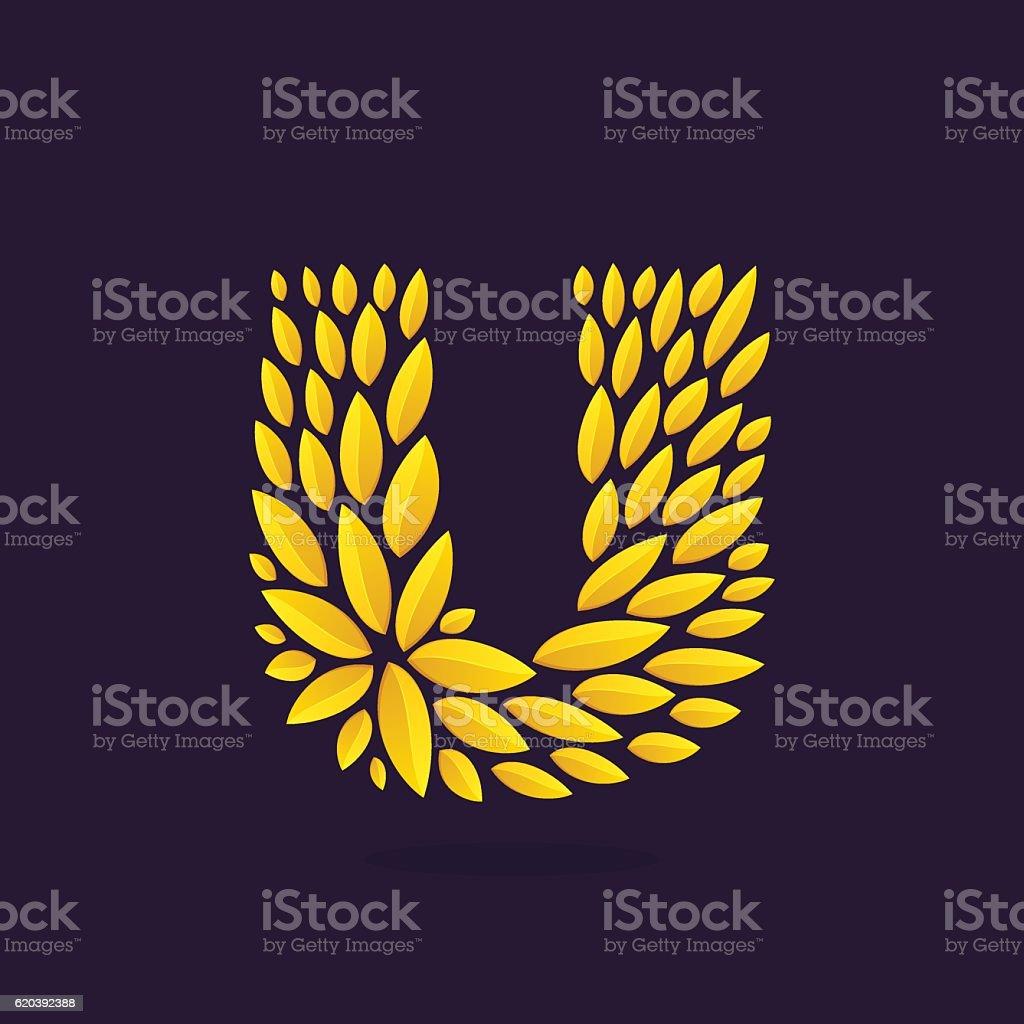 Vintage award laurel wreath. Vector triumph and success elements for...
