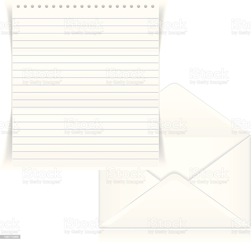 Letter royalty-free stock photo