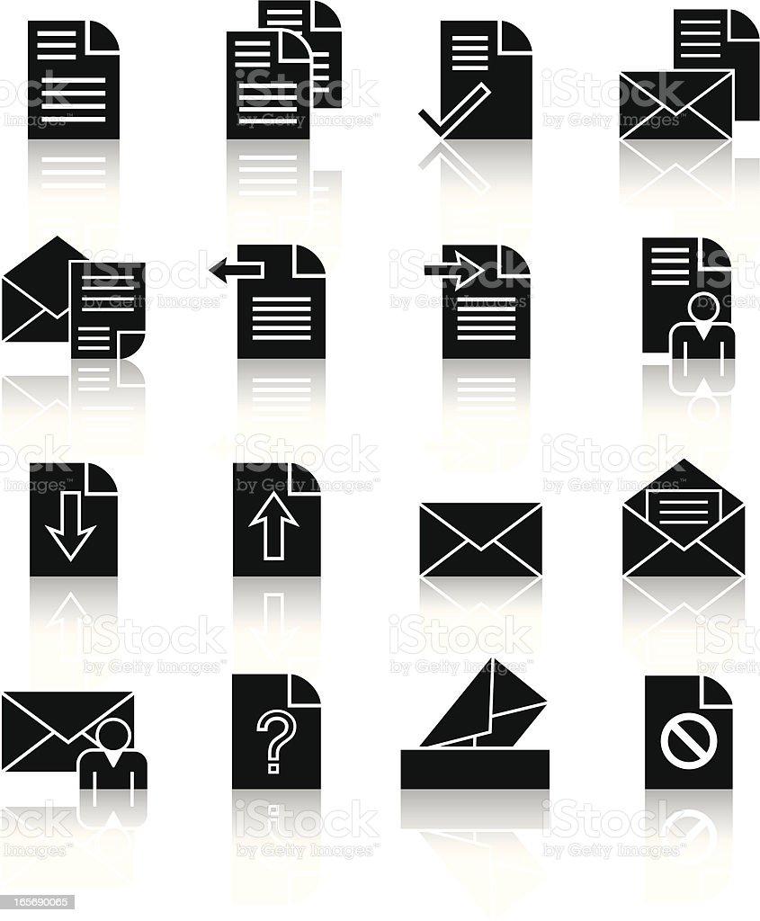 letter royalty-free stock vector art