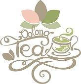 Lettering - Oolong Tea