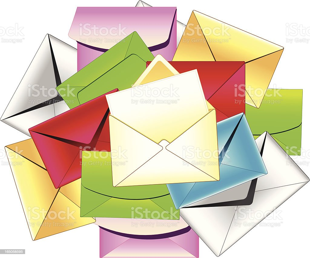 Letters royalty-free stock vector art