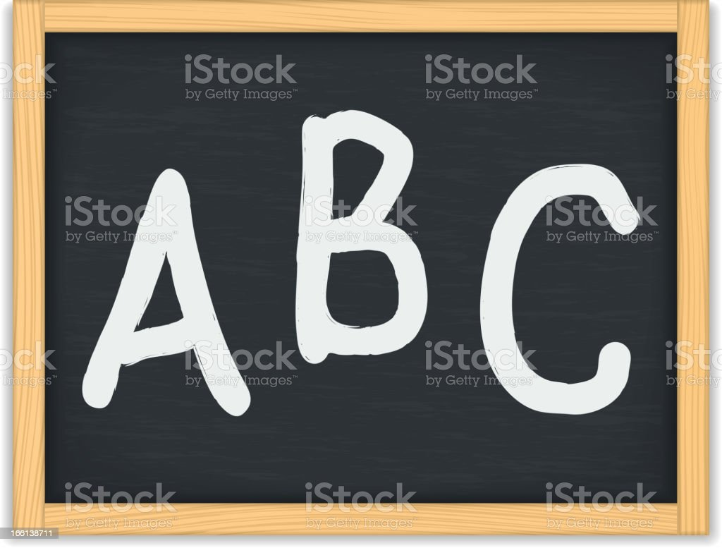 ABC Letters royalty-free stock vector art