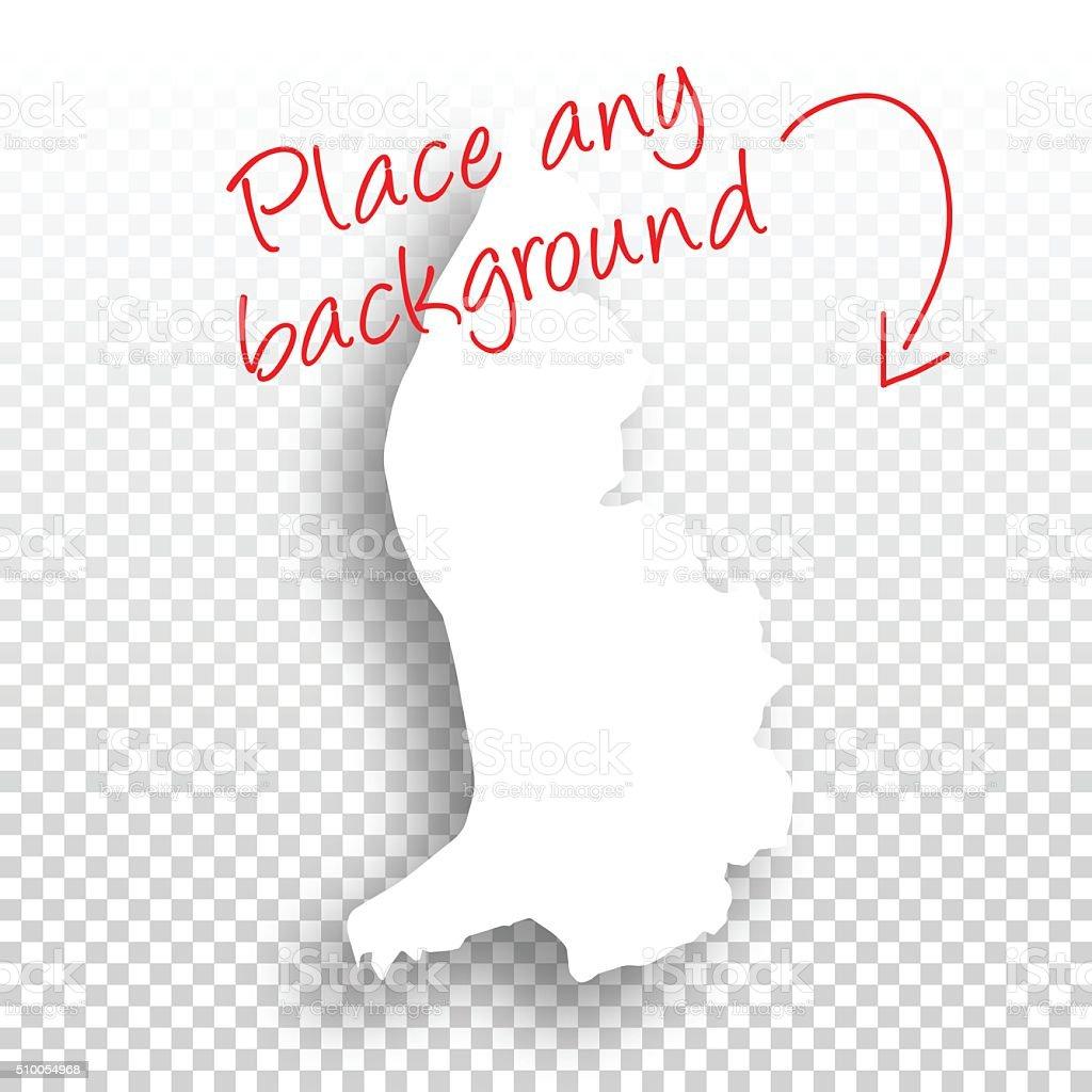 リヒテンシュタインマップを空白の背景デザイン のイラスト素材