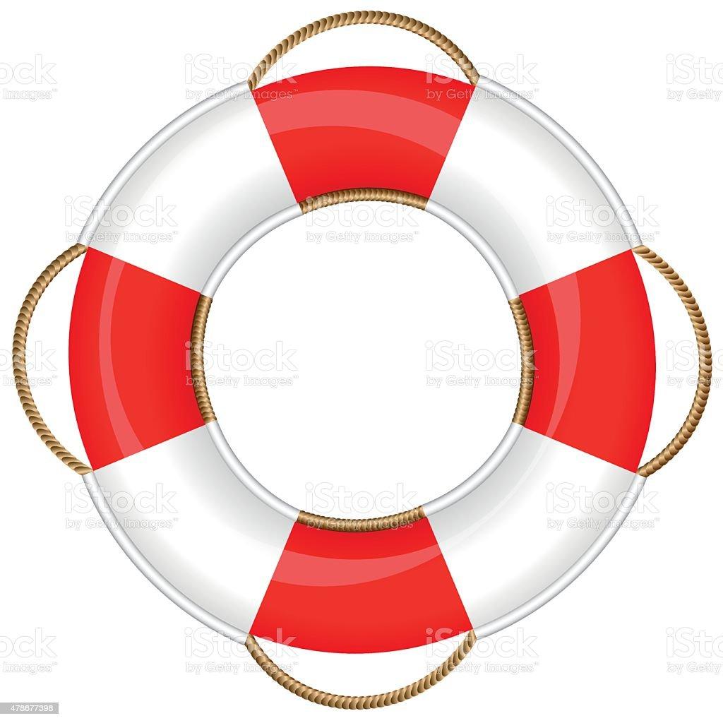 Lifebuoy Life Saver Ring Belt stock vector art 478677398 ...