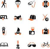 lifestyle icon set