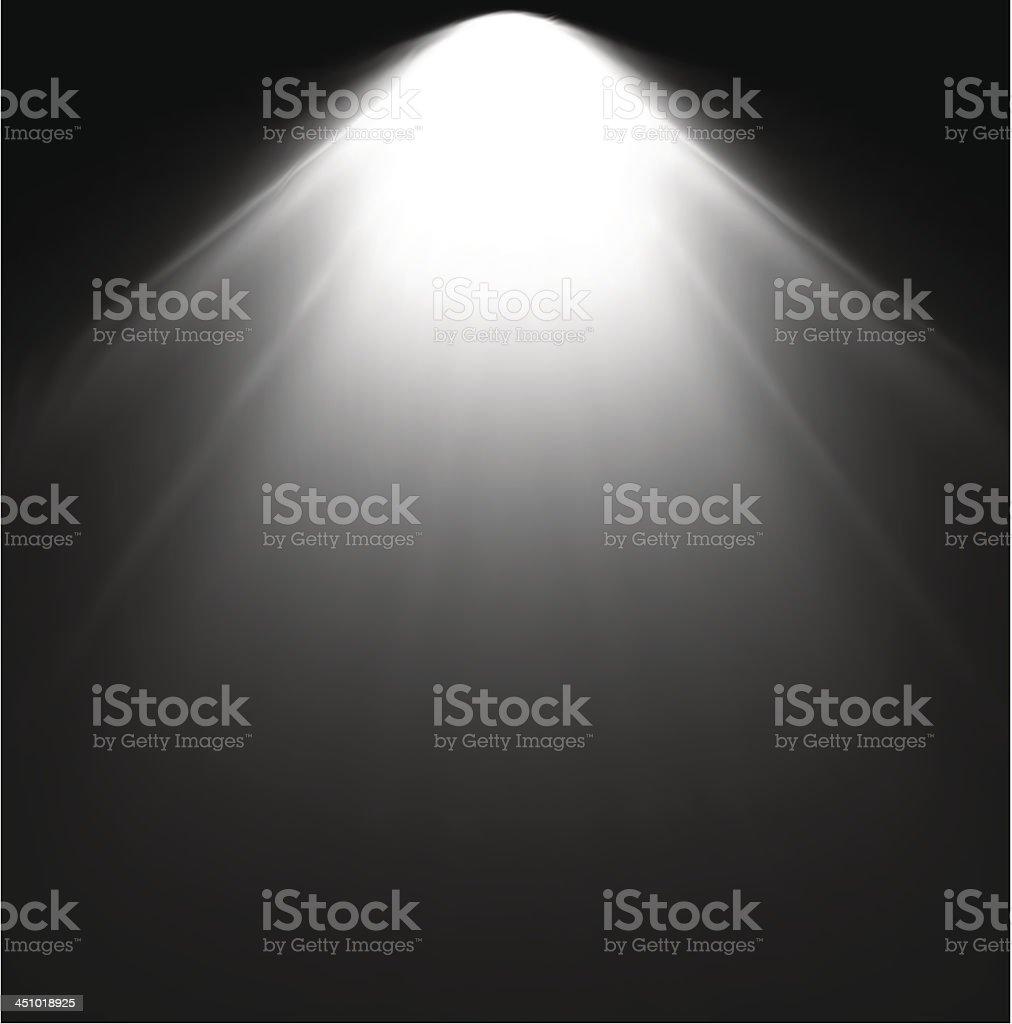 Light Beam From Projector. Vector illustration royalty-free stock vector art