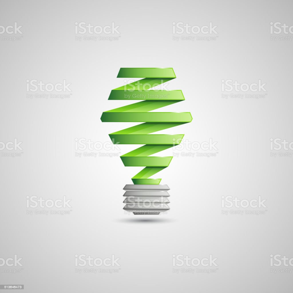 Light Bulb Illustration vector art illustration