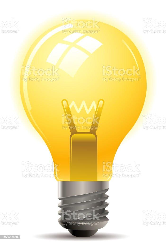 light bulb royalty-free stock vector art