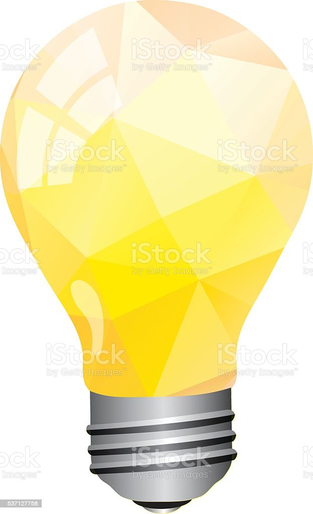Light Bulb vector art illustration