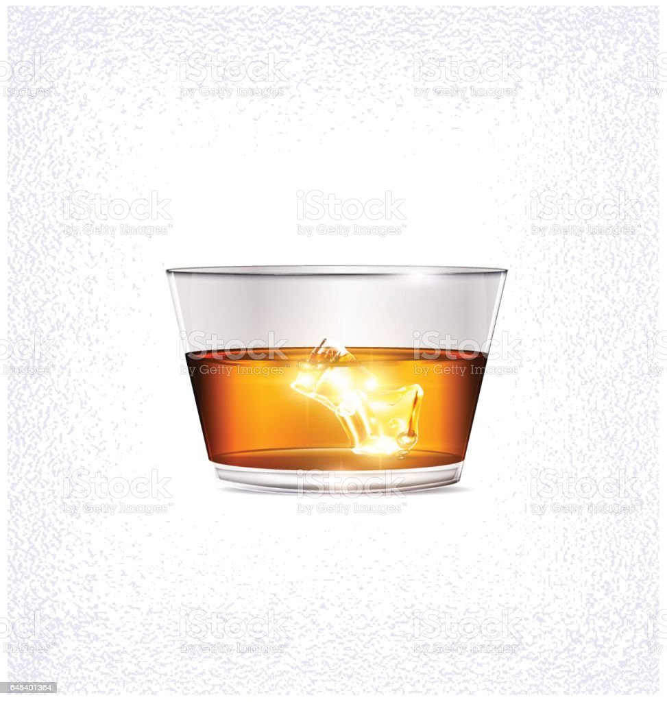 light, glass and ice vector art illustration