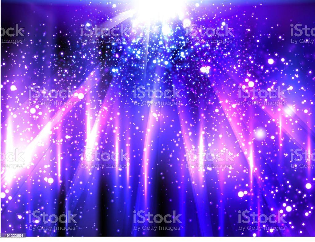 light neon party background vector art illustration
