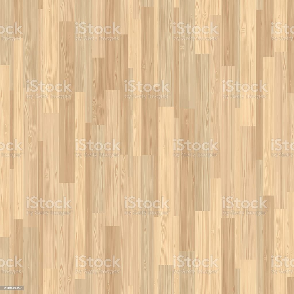 Light Parquet Seamless Wooden Stripe Mosaic Tile vector art illustration
