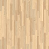 Light Parquet Seamless Wooden Stripe Mosaic Tile