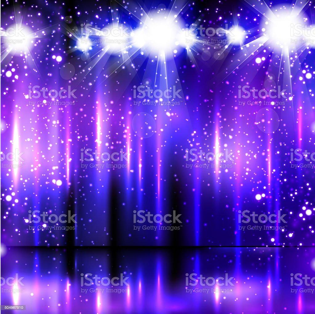 light party background vector art illustration