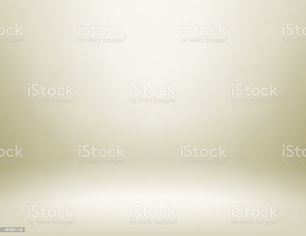 Light studio room vector art illustration