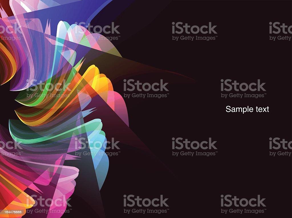 Light wallpaper royalty-free stock vector art
