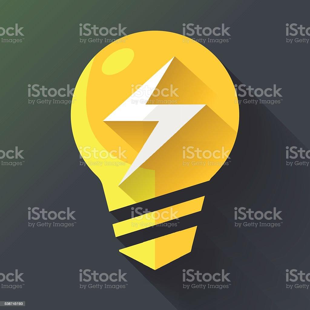 light_bulb_07 vector art illustration