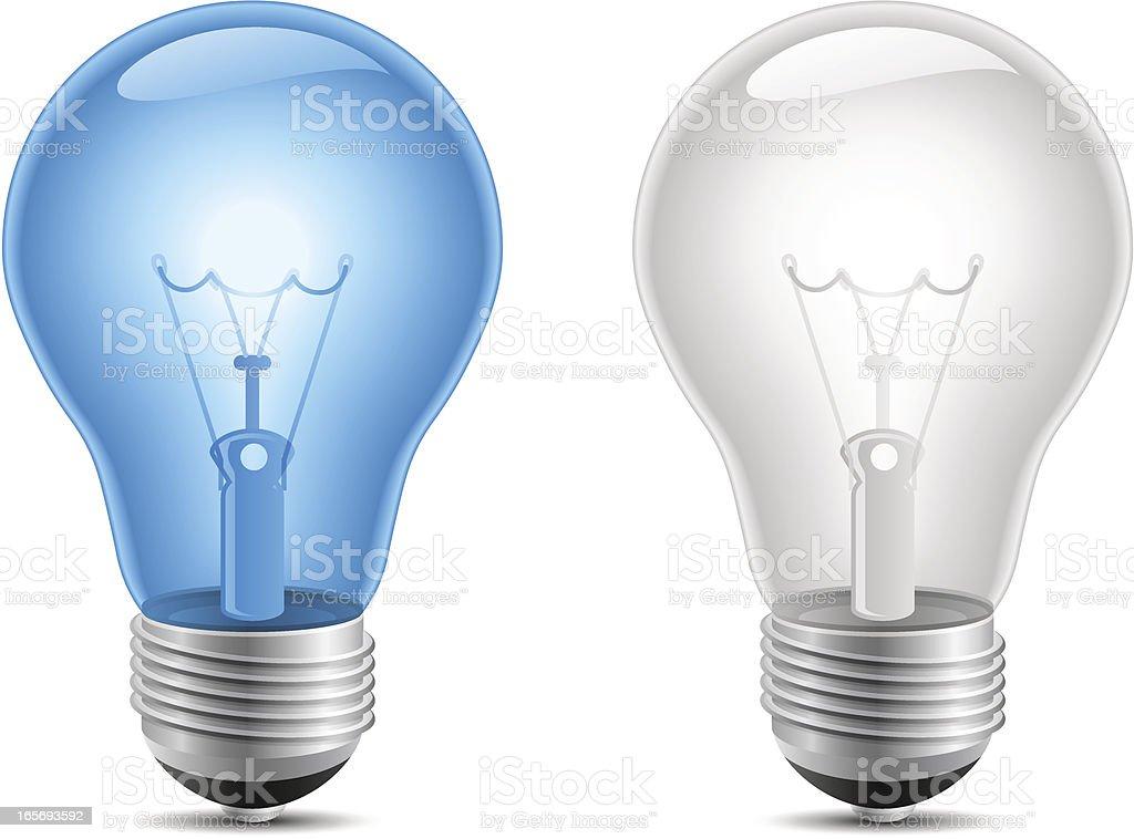 Lightbulb royalty-free stock vector art