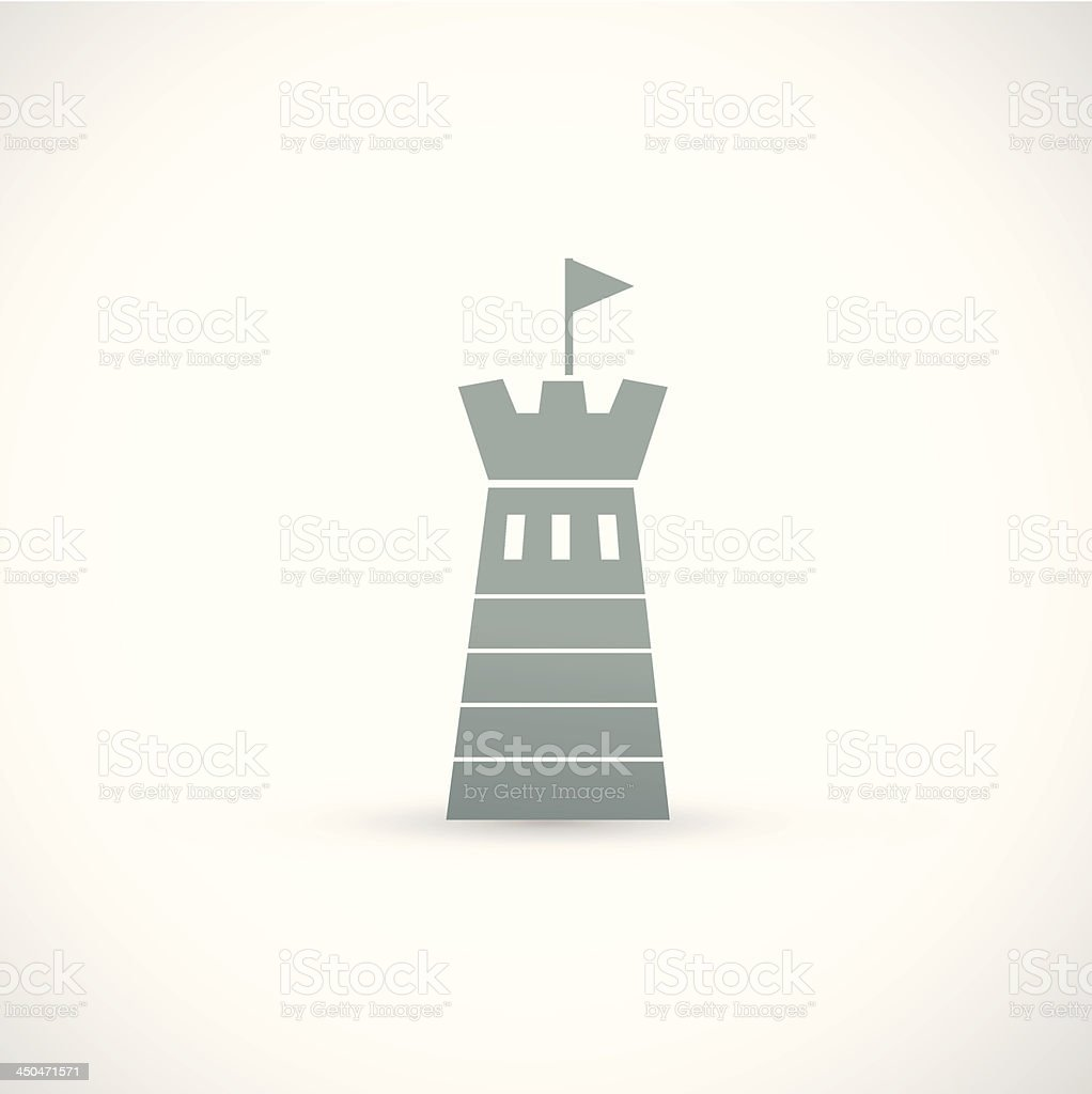 Lighthouse icon royalty-free stock vector art