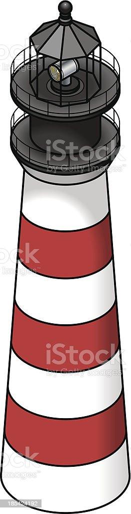 Lighthouse royalty-free stock vector art