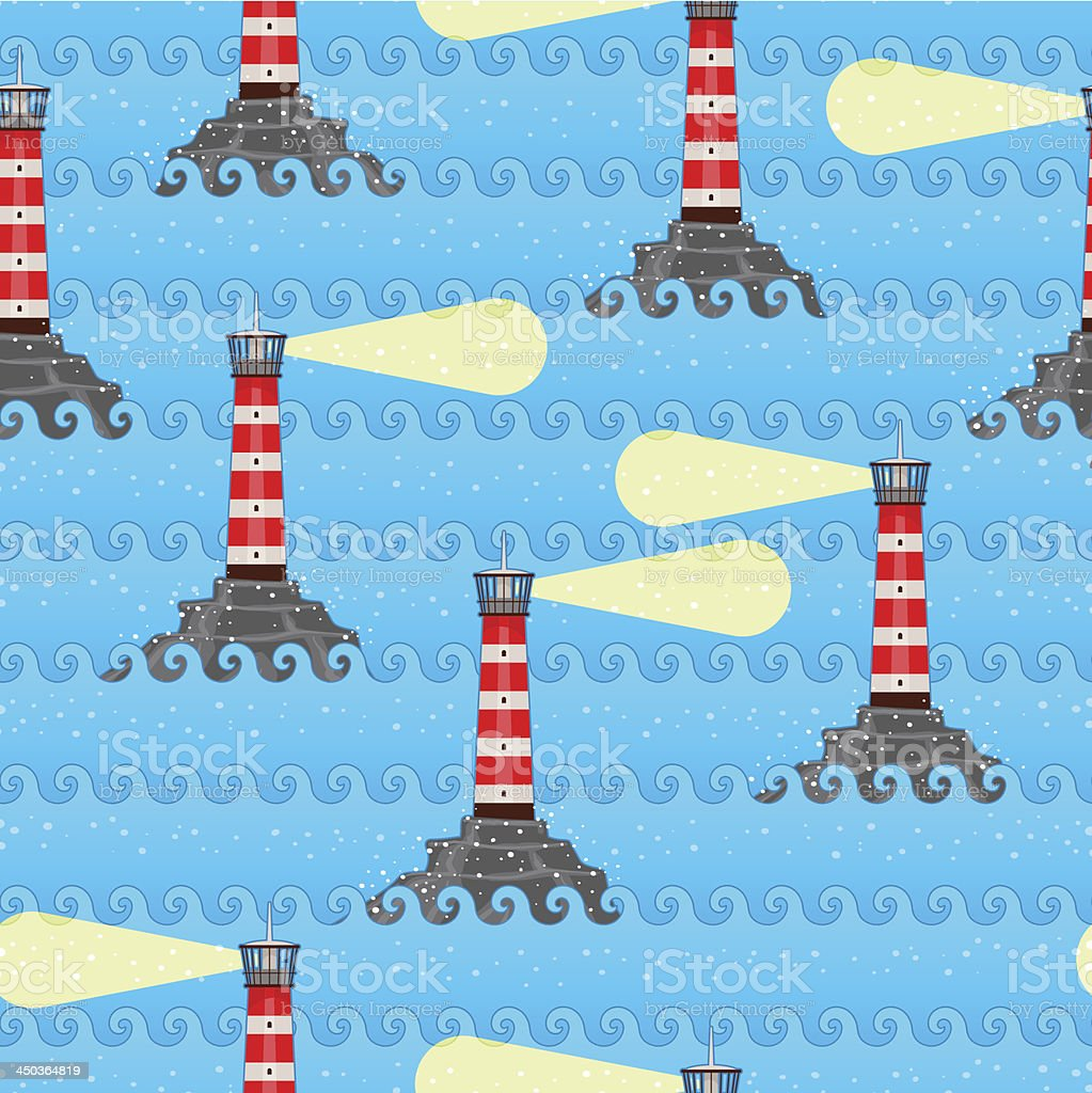 lighthouses royalty-free stock vector art