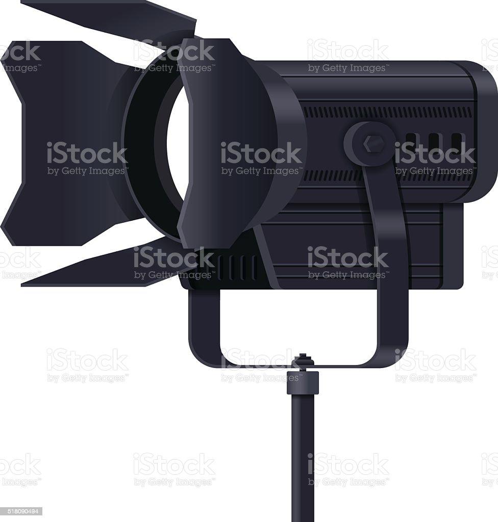 Lighting Equipment vector art illustration
