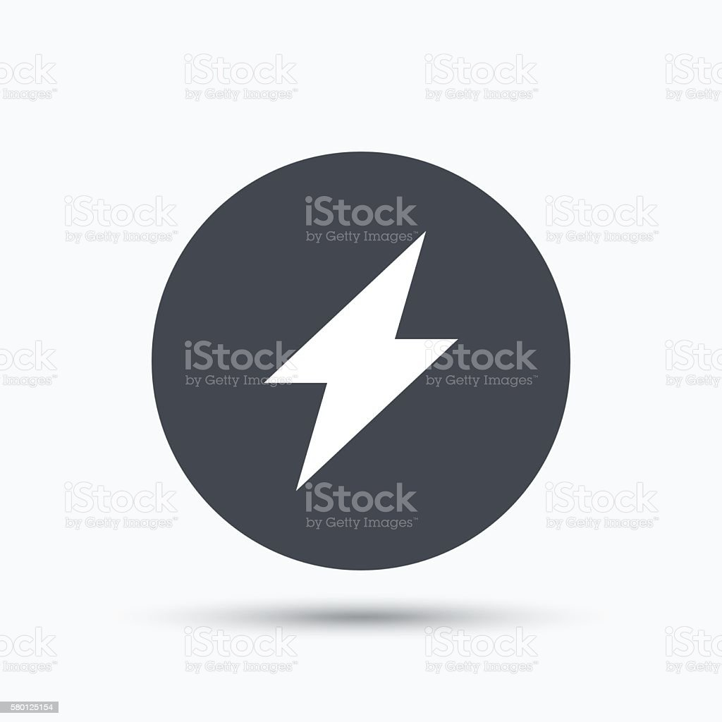 Lightning icon electricity energy power sign stock vector art electricity energy power sign royalty free stock vector art biocorpaavc Choice Image