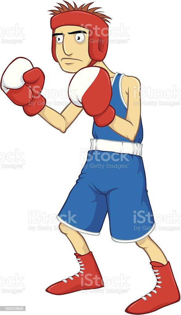 Lightweight Boxer royalty-free stock vector art