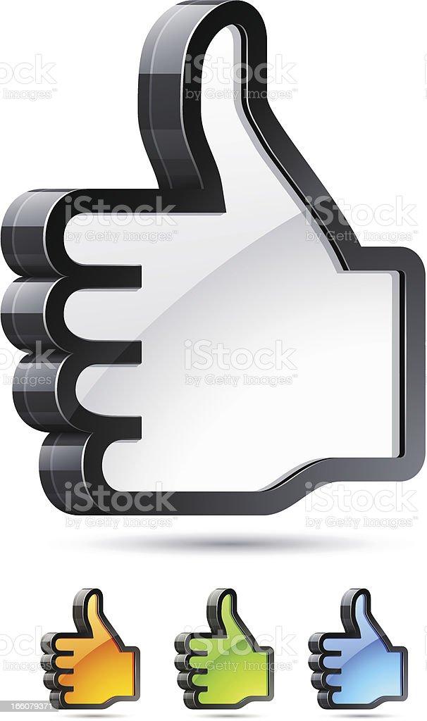 I like it! royalty-free stock vector art