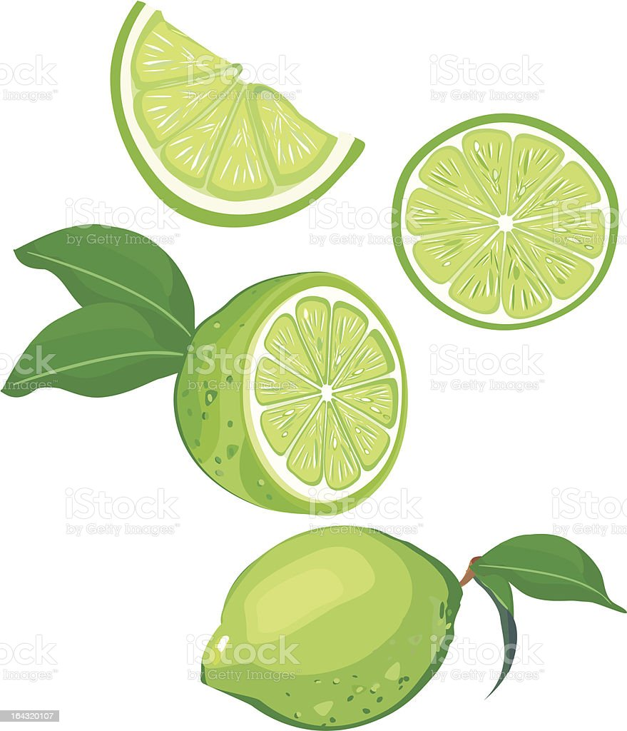 lime mix royalty-free stock vector art