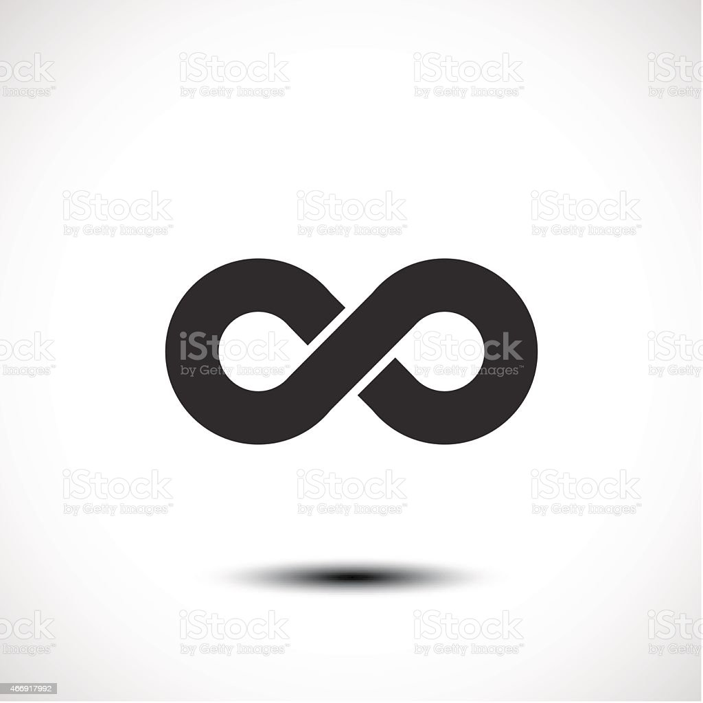 Limitless symbol icon vector art illustration