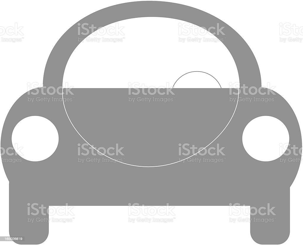 Line Car royalty-free stock vector art