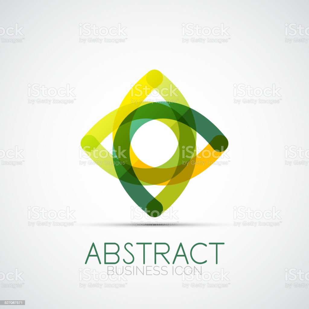 Line design loop icon vector art illustration