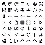 Line Essential Icons 55