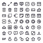 Line Essential Icons 67